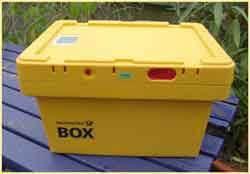 Postbox Aktentransport Verfahrensakten